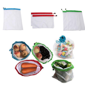 Waste Free Reusable Produce Bags