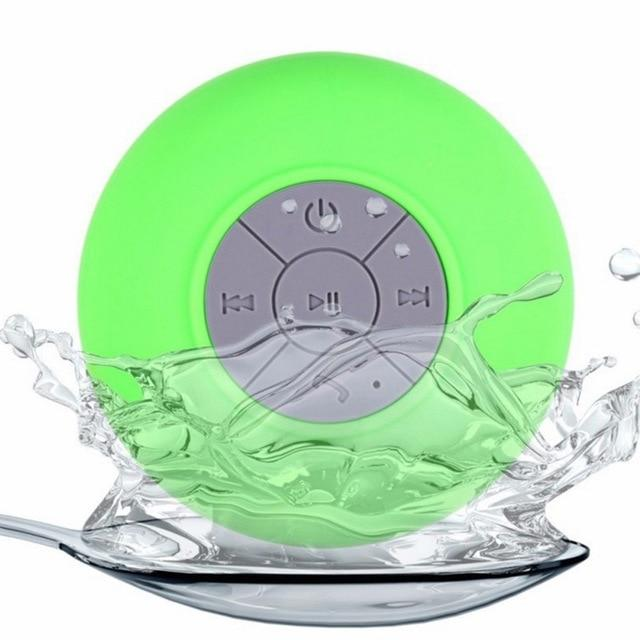 Waterproof Speaker Mini Portable Bluetooth Wireless Shower Speakers For IPhone MP3 Hand Free Car Speaker Bluetooth Receiver
