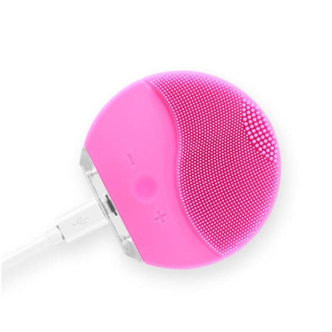 ZD Facial Electric Cleansing Silicone Brush -Sonic Vibration