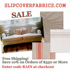 Slipcover Fabric Sale