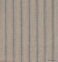 French Flax Ticking-Greige