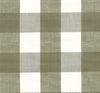 Lyme Check Fabric - Linen/white