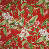 Pali Cherry Floral Fabric