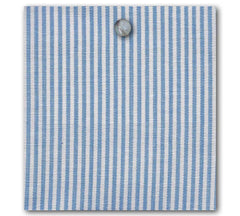 Essex Ticking Fabric - Sky Blue