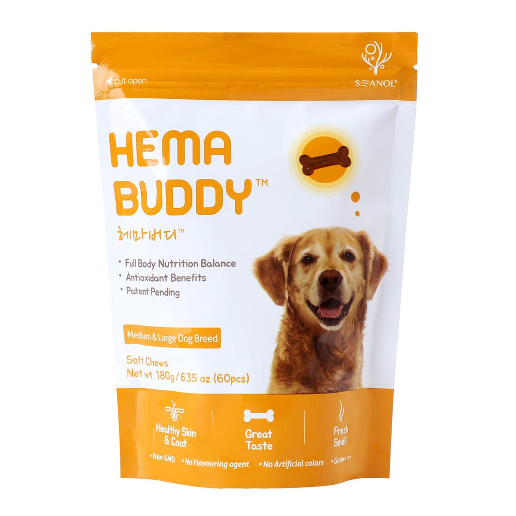 HemaBuddy Dog Health Supplement and Treat | hemabuddy hk botamedi hk