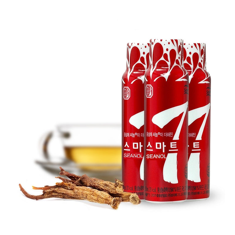 Smart7 Smart Energy Drink - botamedi hong kong botamedi hk botamedihk seanol 2019 korea imported US FDA NDI EFSA NFI - energy drink health supplement US Europe FDA approved hangover relief boosts physical energy mental focus clarity concentration fatigue ecklonia cava extract