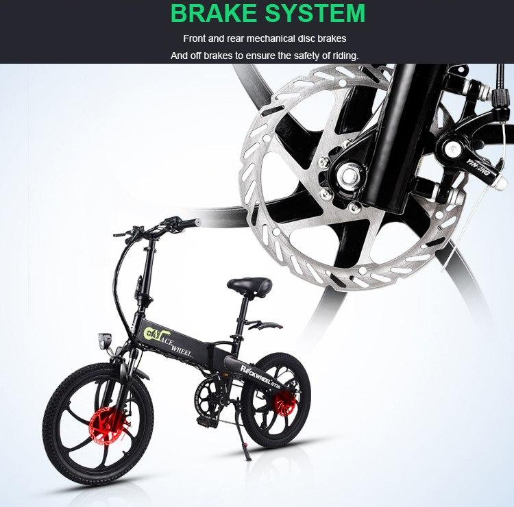 Electric Bicycle with Battery hidden in frame 350W