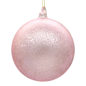 Large pink Christmas tree decoration