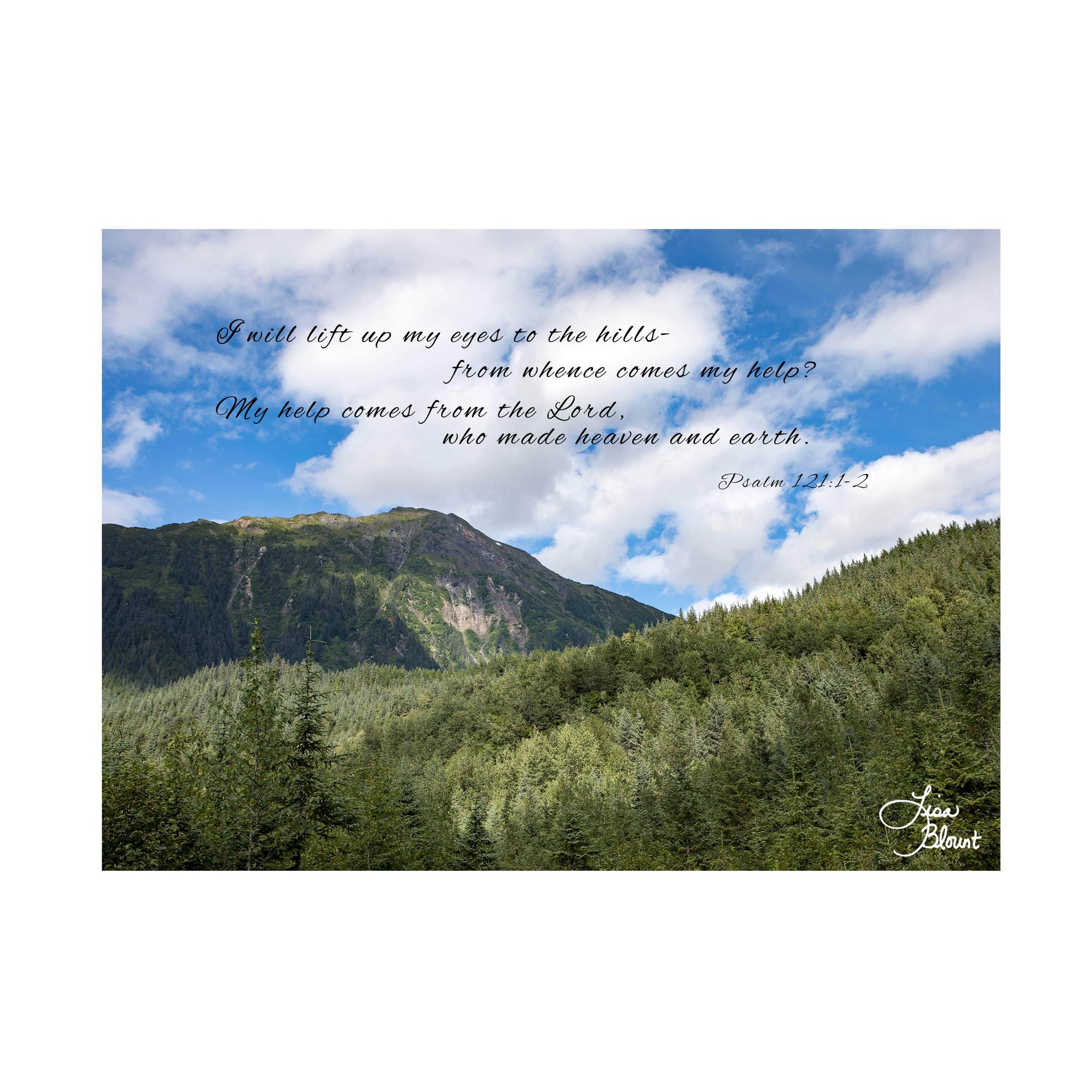 Psalm 1211 2 eyestothehills 5x7 greeting card lisa blount psalm 1211 2 eyestothehills 5x7 greeting card m4hsunfo