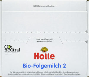Holle Bio Stage 2 Organic Infant Milk Formula, 600g | 12 Units