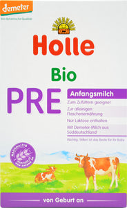 Holle Bio Stage PRE Organic Infant Milk Formula, 400g | 6 Units