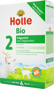 Holle Goat Stage 2 Organic Follow-On Infant Milk Formula, 400g | 24 Units