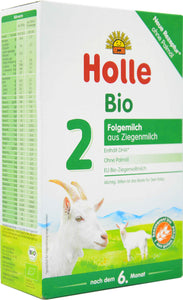 Holle Goat Stage 2 Organic Follow-On Infant Milk Formula, 400g