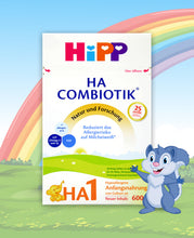 Load image into Gallery viewer, HiPP HA Germany Hypoallergenic Stage 1 Combiotic, 600g | 24 Units