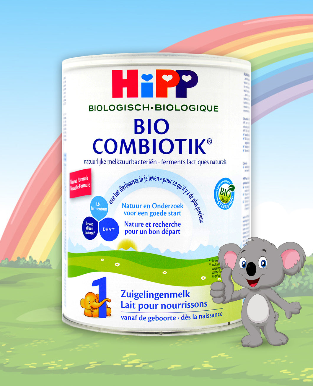HiPP Dutch Stage 1 Combiotic Infant Milk Formula, 800g | 24 Units