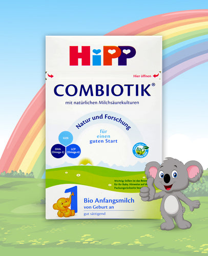 HiPP German Stage 1 Combiotic Infant Milk Formula, 600g