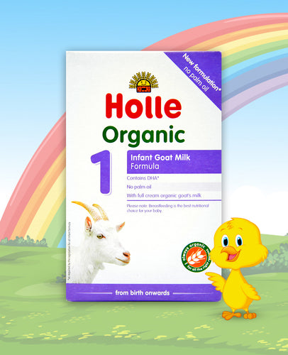 Holle Goat Stage 1 Organic Infant Milk Formula, 400g