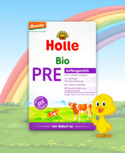 Load image into Gallery viewer, Holle Bio Stage PRE Organic Infant Milk Formula, 400g | 6 Units