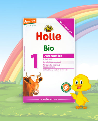 Holle Bio Stage 1 Organic Infant Milk Formula, 400g
