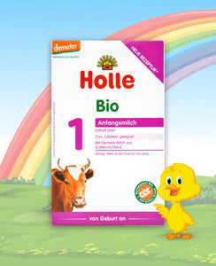 Holle Bio Stage 1 Organic Infant Milk Formula, 400g | 12 Units