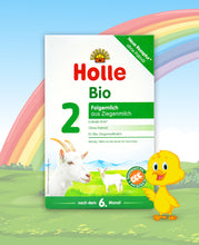 Load image into Gallery viewer, Holle Goat Stage 2 Organic Follow-On Infant Milk Formula, 400g | 24 Units