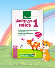 Load image into Gallery viewer, Lebenswert Anfangsmilch Stage 1 Organic Infant Milk Formula, 500g