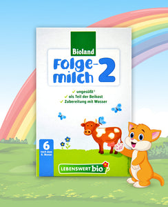 Lebenswert Anfangsmilch Stage 2 Organic Infant Milk Formula, 500g | 10 Units