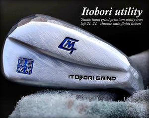 Chrome Satin Driving Iron - ITOBORI