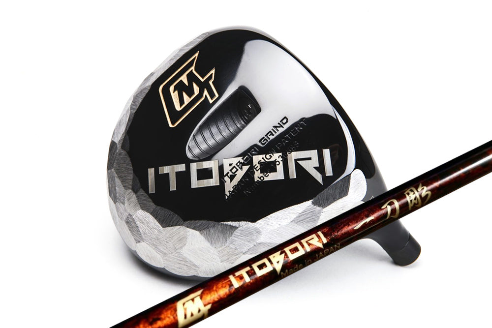 Itobori Black Driver + Itobori 110t Premium Shaft Brown