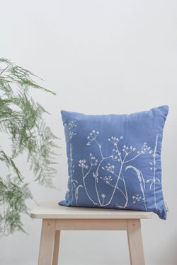 Hedgerow Linen Cushion Cover