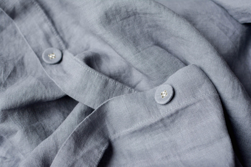 French Linen Covered Buttons