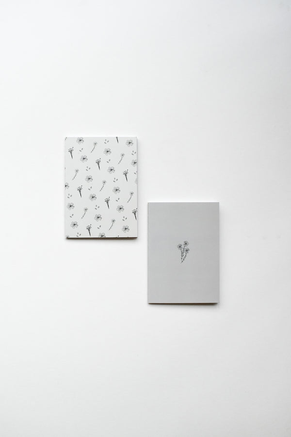 A6 Notebooks (Set of 2) | Flax Motifs