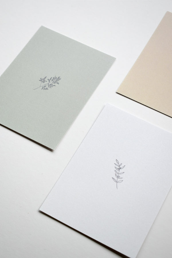 Botanical Card Prints (Set of 5)