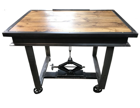 Industrial Adjustable Drafting Table
