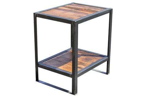 Edgewood Industrial End Table