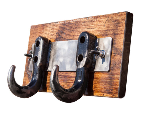Man Cave Recovery Hook Coat Rack