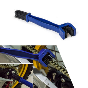 Handy chain cleaning brush