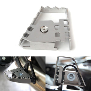 BMW GS - Stainless steel bake pedal extender