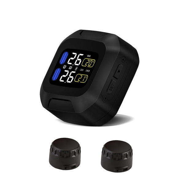 Motorcycle Tire Pressure Monitoring System [TPMS]