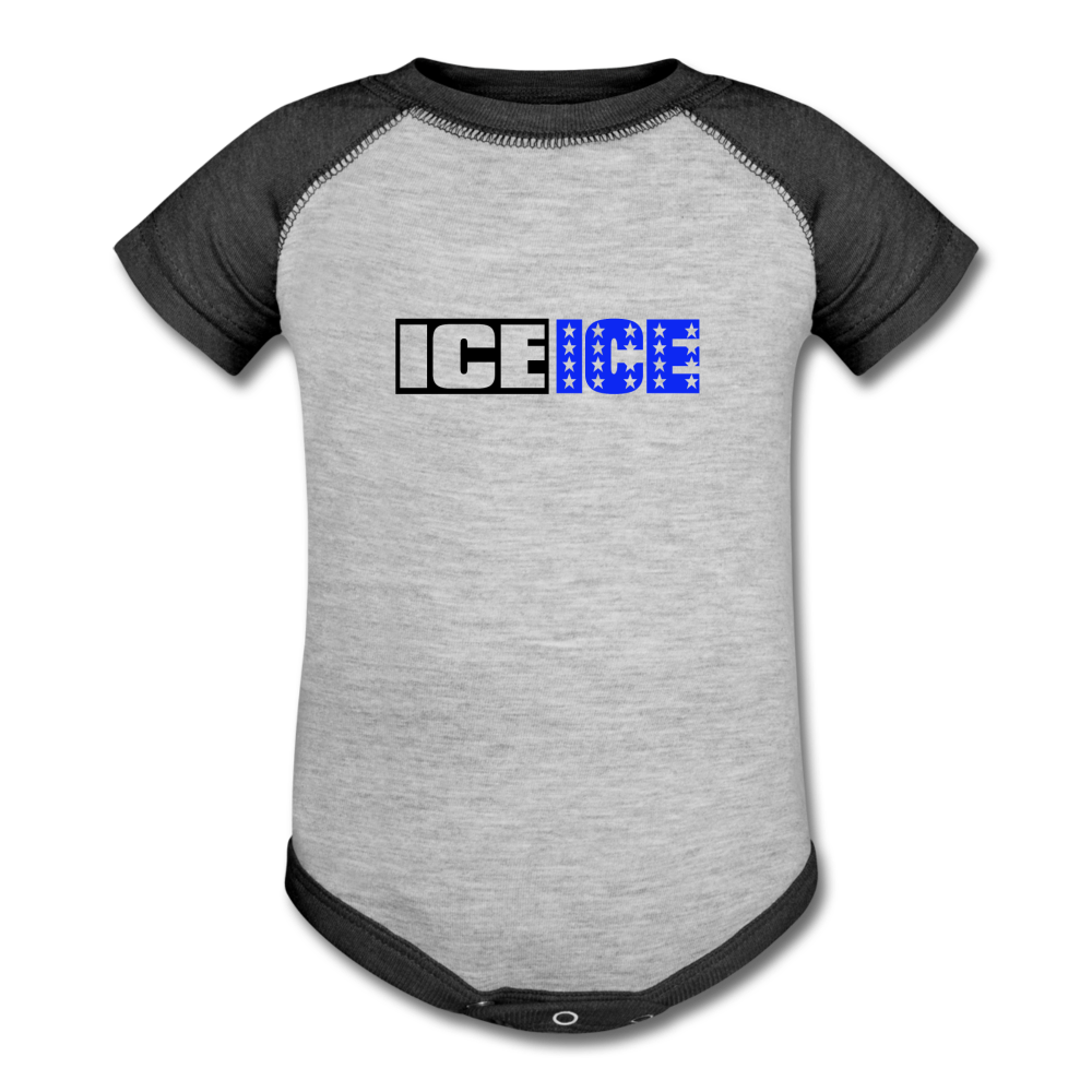 Ice Ice Baby - heather gray/charcoal
