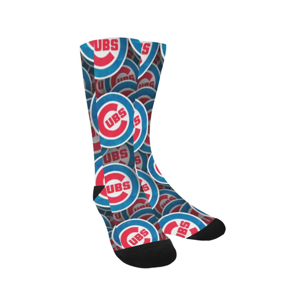 Cubs Baseball Crew Socks Adult