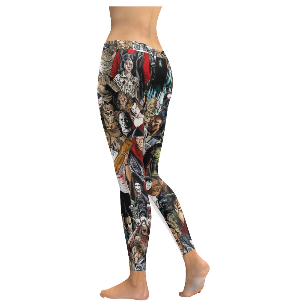 Horror Characters Leggings
