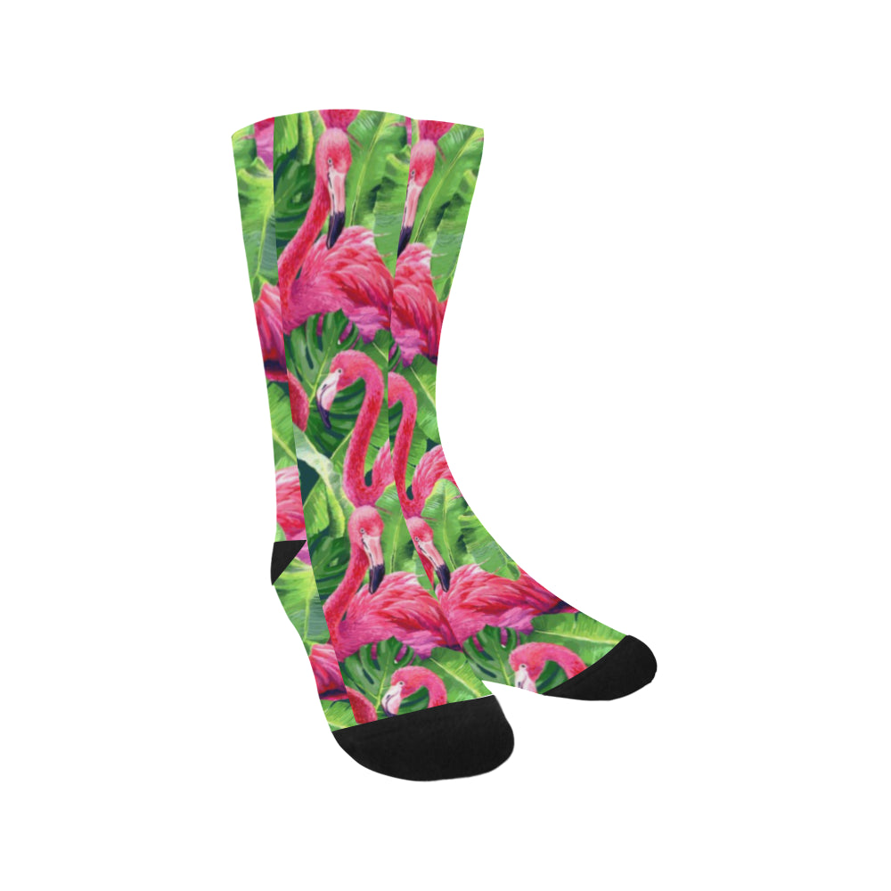 Flamingo Crew Socks Adult