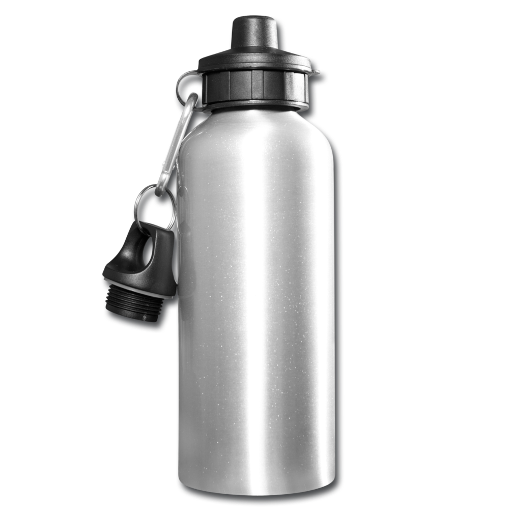 Personalize Your Onw Water Bottle - silver