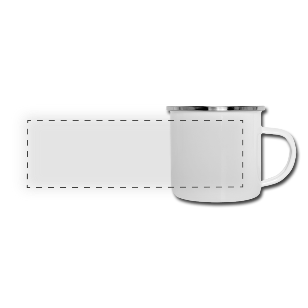 Panoramic Camper Mug - white