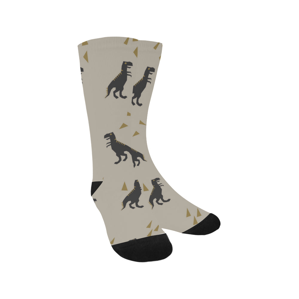 Dino T-Rex Crew Socks Adult