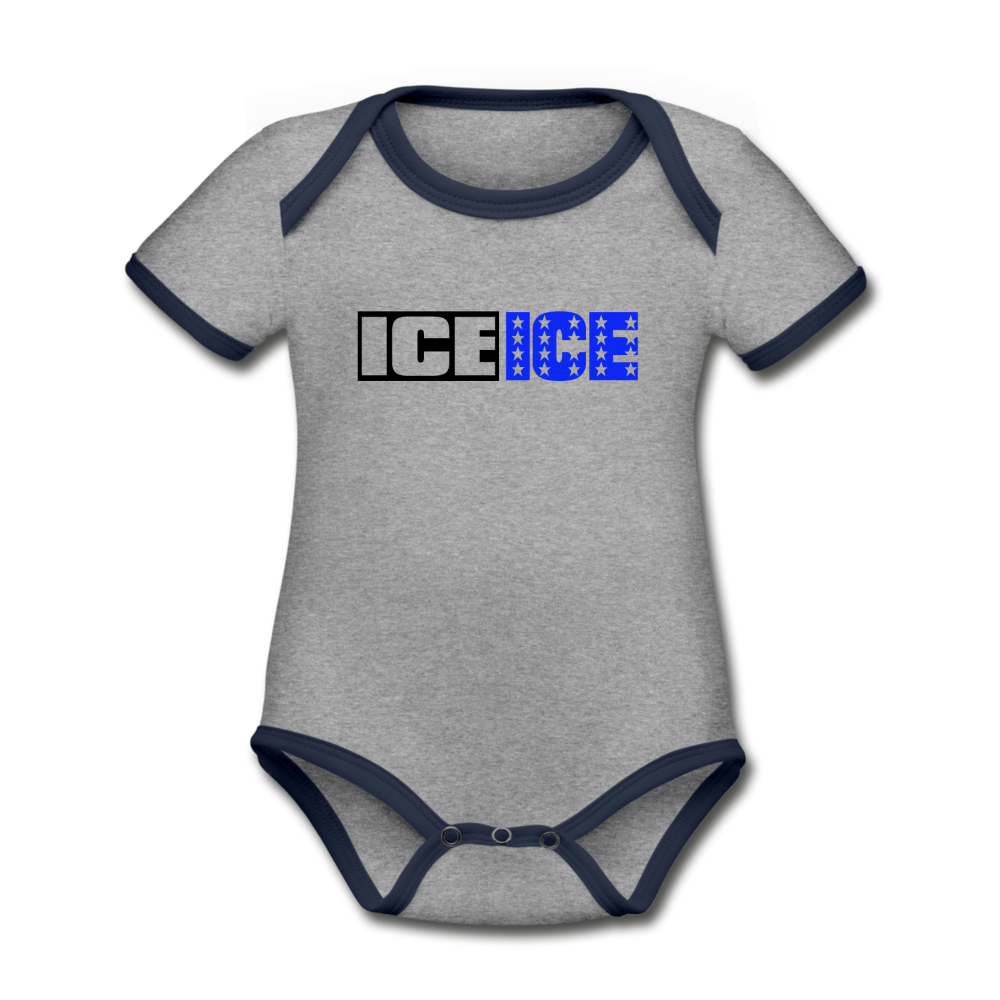 Ice Ice Baby (Classic) - heather gray/navy