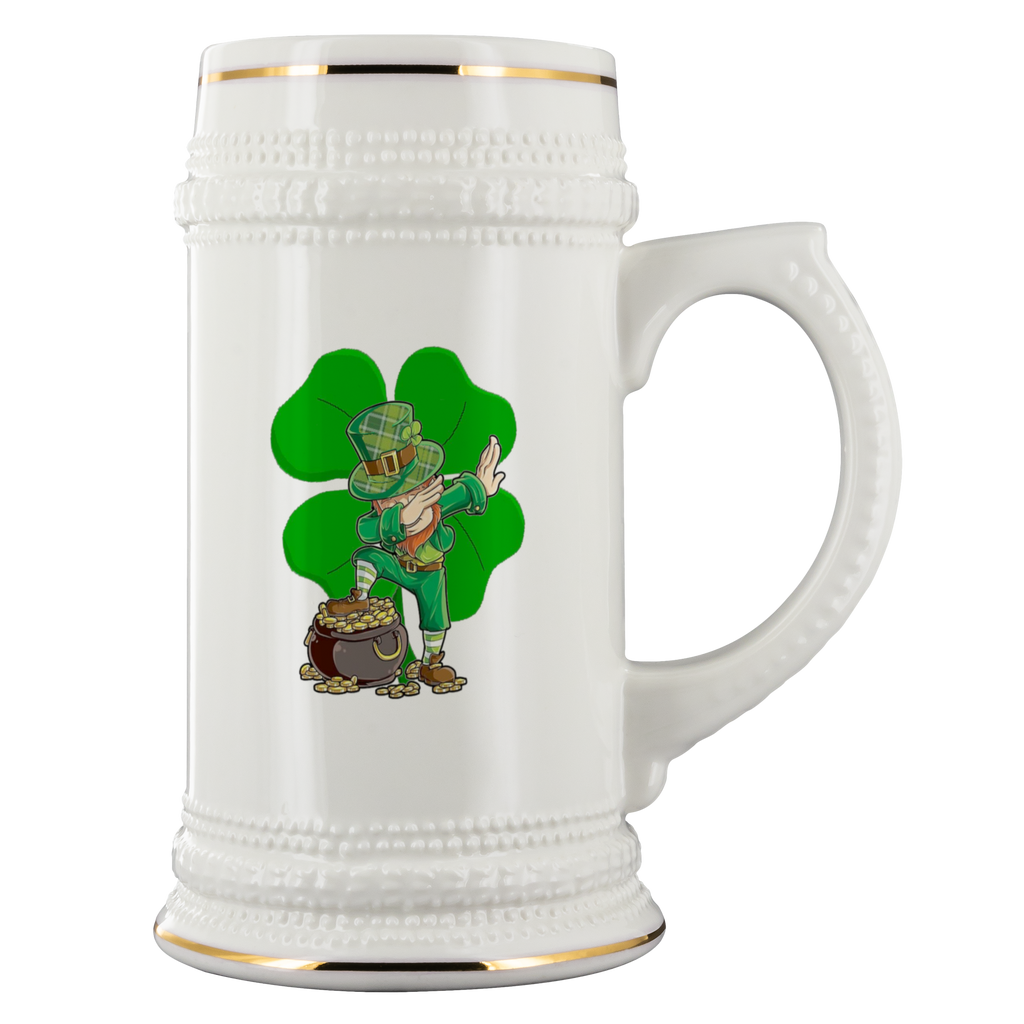 22oz Beer Stein - Lucky Dabbing Charms