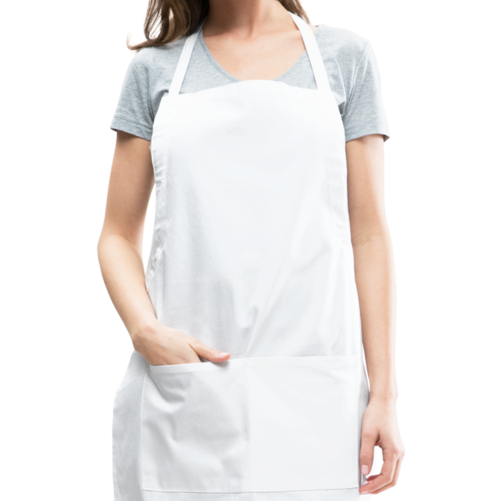 Personalize Your Own  Womens Adjustable Apron - white