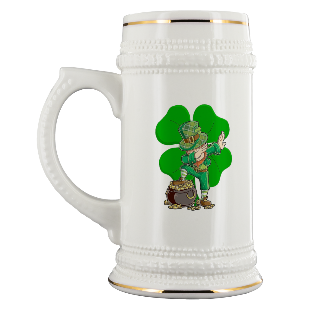 Lucky Dabbing Charms - 22 oz. Beer Stein